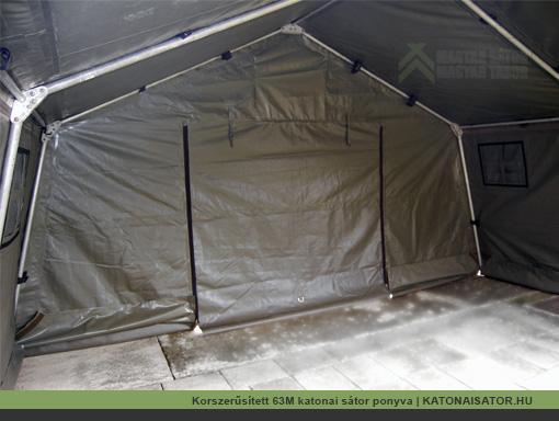 Korszerűsített 63M katonai sátor ponyva | KATONAISATOR.HU