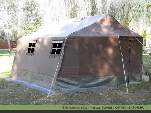 63M katonai sátor (korszerűsített) | KATONAISATOR.HU