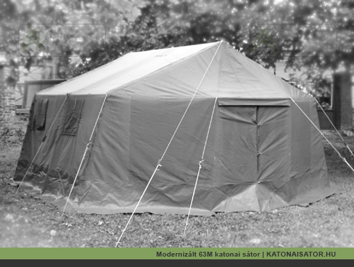 Modernizált 63M katonai sátor | KATONAISATOR.HU