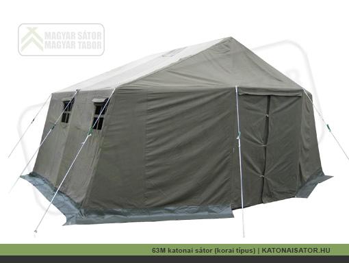 63M katonai sátor (korai típus) | KATONAISATOR.HU