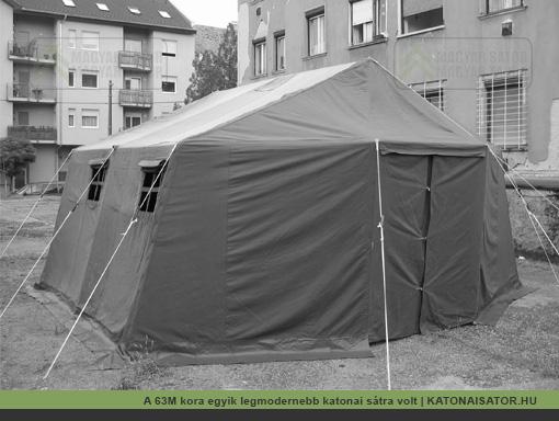 A 63M kora egyik legmodernebb katonai sátra volt | KATONAISATOR.HU