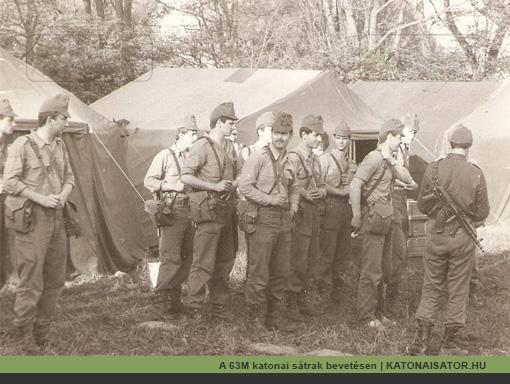 A 63M katonai sátrak bevetésen | KATONAISATOR.HU