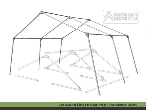 63M katonai sátor szerkezet (váz) | KATONAISATOR.HU