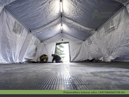 Pneumatikus katonai sátor | KATONAISATOR.HU