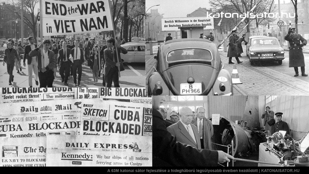 A 63M katonai sátor fejlesztése a hidegháború legsúlyosabb éveiben kezdődött | KATONAISATOR.HU